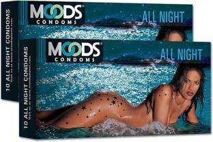 Moods All Night Condoms (20 Condoms)