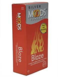 Moods Silver Blaze Condoms (12 Condoms)