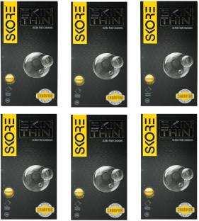 Skore Skin Thin Condoms (10 Condoms) - Pack of 6