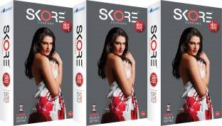 Skore Not Out Condoms (20 Condoms) - Pack of 3