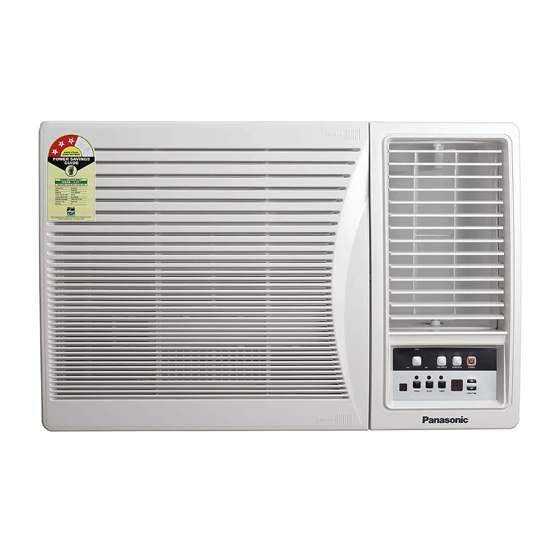 Panasonic 1.5 Ton 3 Star Window AC (Copper, PM 2.5 Filter, CW-LC183AM)