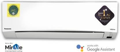 Panasonic 1.5 Ton 5 Star Wi-Fi Twin Cool Inverter Split AC (Copper, PM 2.5 Filter, CS/CU-NU18WKYW)
