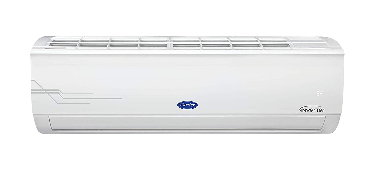Carrier 1.2 Ton 5 Star Inverter Split AC (Copper, PM 2.5 Filter, CAI14ES5R30F0, 2021 Model, White)