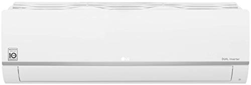 LG 2.0 Ton 3 Star Inverter Split AC (Copper, Convertible 5-in-1 Cooling, HD Filter, 2021 Model, MS-Q24HNXA, White)