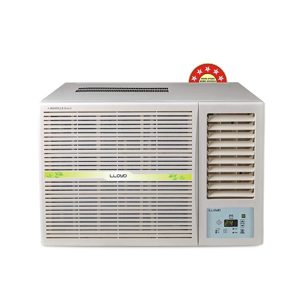 Lloyd 1.5 Ton 5 Star WiFi Ready Inverter Split AC (Copper, Anti-Viral & PM 2.5 Filter, 2021 Model, GLS18I56WRBP, White)