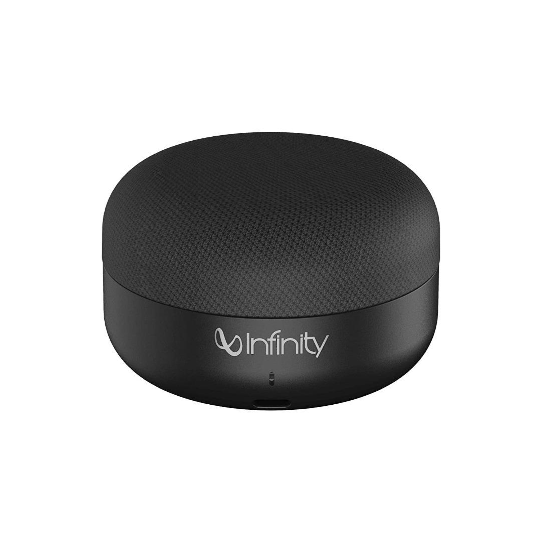 Infinity (JBL) Fuze Pint Deep Bass Dual EQ Bluetooth 5.0 Wireless Portable Speaker