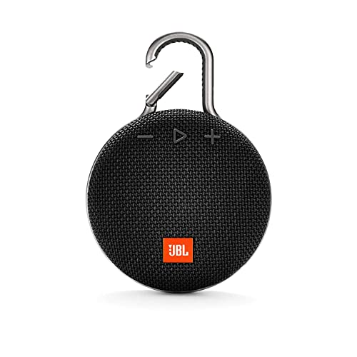 JBL Clip 3 Ultra-Portable Wireless Bluetooth Speaker with Mic