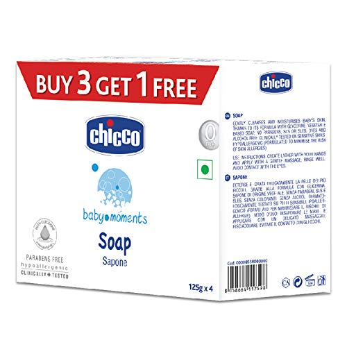 Chicco Baby Moments Soap Bars
