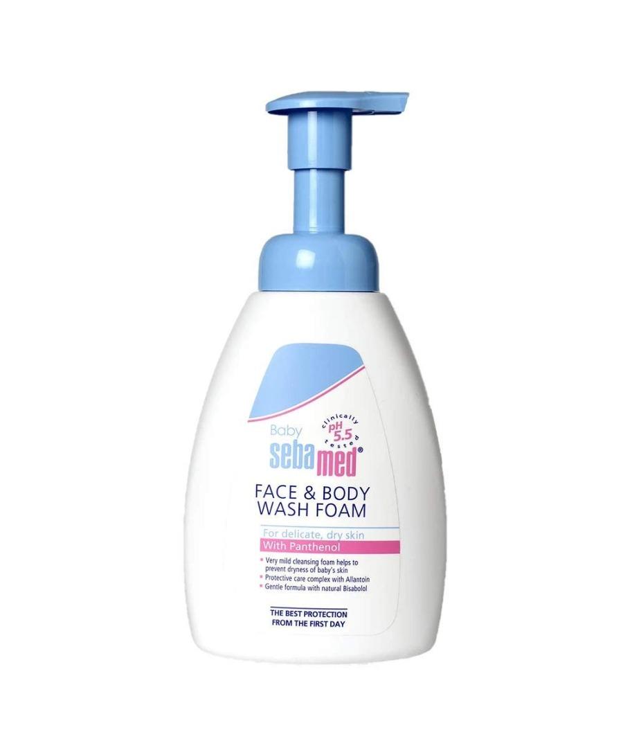 Sebamed Baby Face & Body Wash Foam