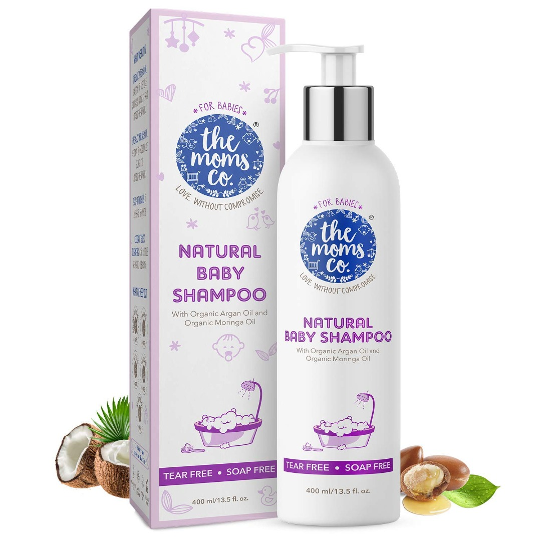 The Moms Co. Natural Baby Shampoo