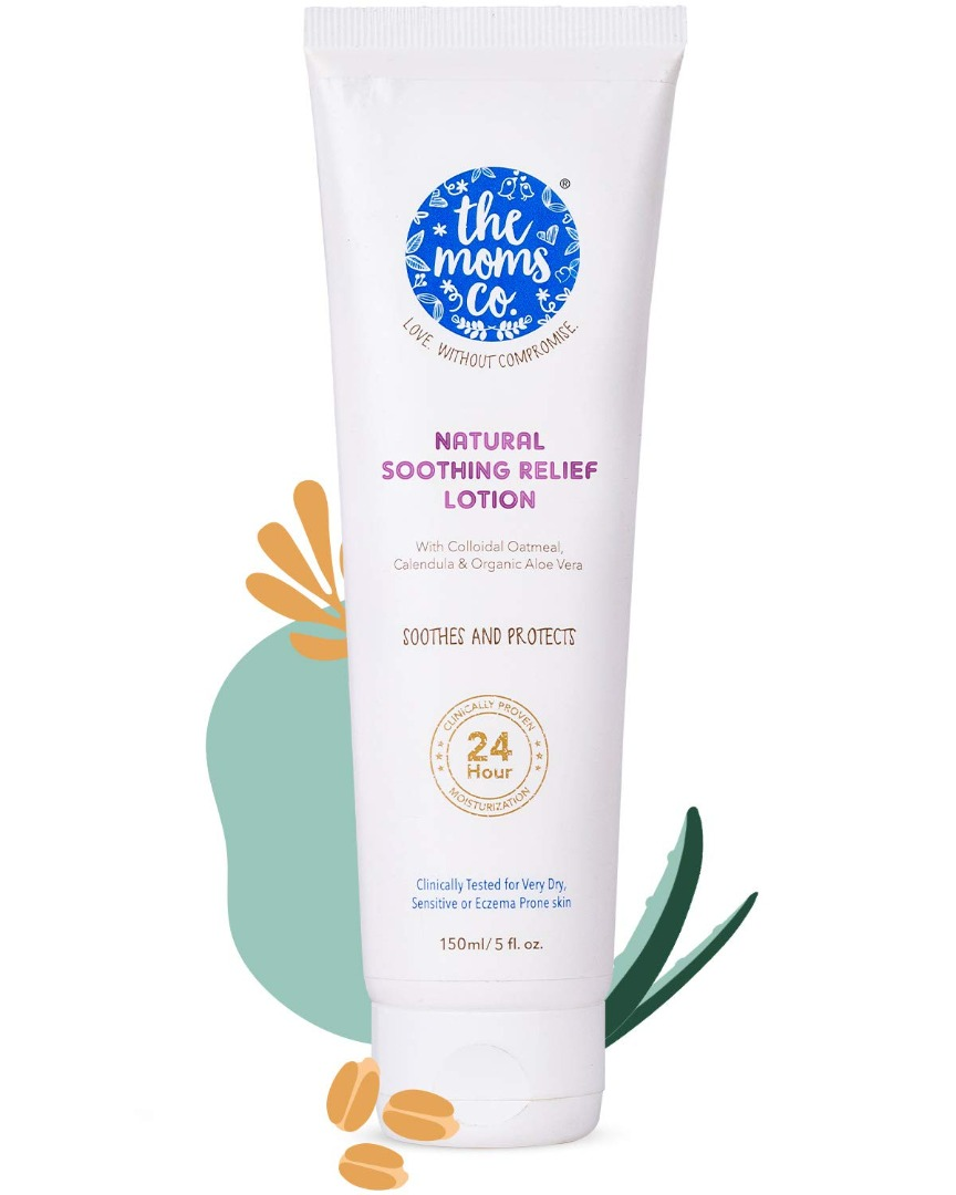 The Moms Co. Natural Soothing Relief Lotion