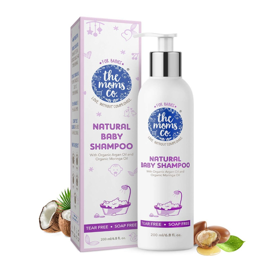 The Moms Co. Tear-Free Natural Baby Shampoo