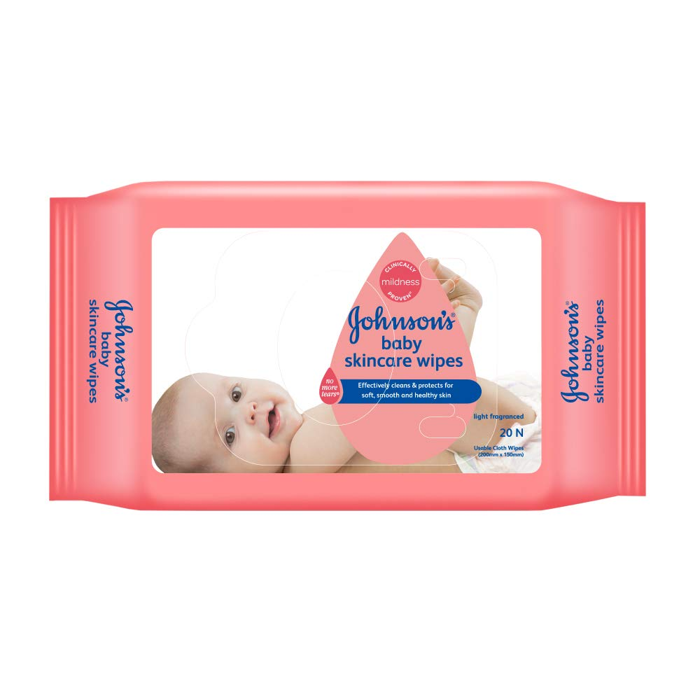 Johnsons Baby Skincare Cloth Wipes