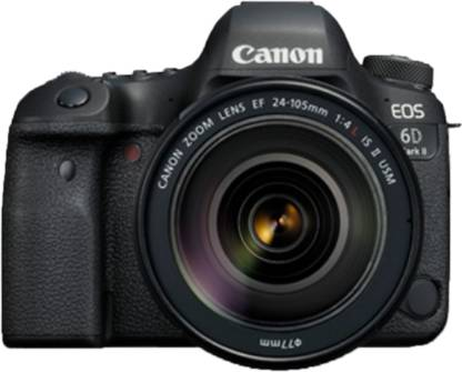 Canon EOS 6D Mark II 26.2MP DSLR Camera with 24-105mm Lens Kit