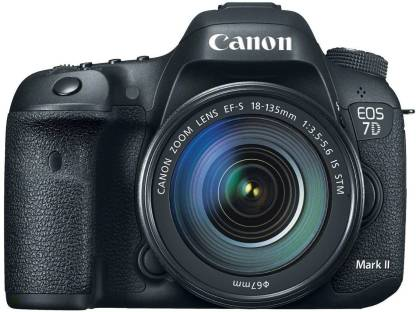 Canon EOS 7D Mark II DSLR Camera with 18-135mm Lens Kit