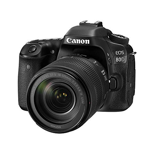 Canon EOS 80D 24.2MP DSLR Camera with 18-135mm Lens Kit