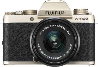 Fujifilm X-T100 24.2 MP Mirrorless Camera with XC 15-45 mm Lens