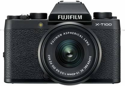 Fujifilm X-T100 24.2MP Mirrorless Camera with 15-45mm Lens Kit