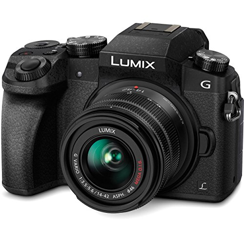 Panasonic Lumix G7 16.00 MP 4K Mirrorless Interchangeable Lens Camera Kit with 14-42 mm Lens
