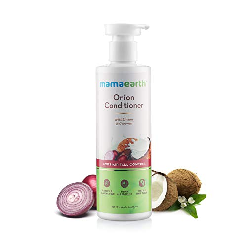 MamaEarth Onion Conditioner for Hair Growth & Hair Fall Control with Onion & Coconut