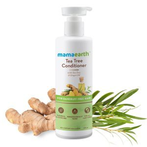 MamaEarth Tea Tree Conditioner with Tea Tree & Ginger Oil for D&ruff Free Hair