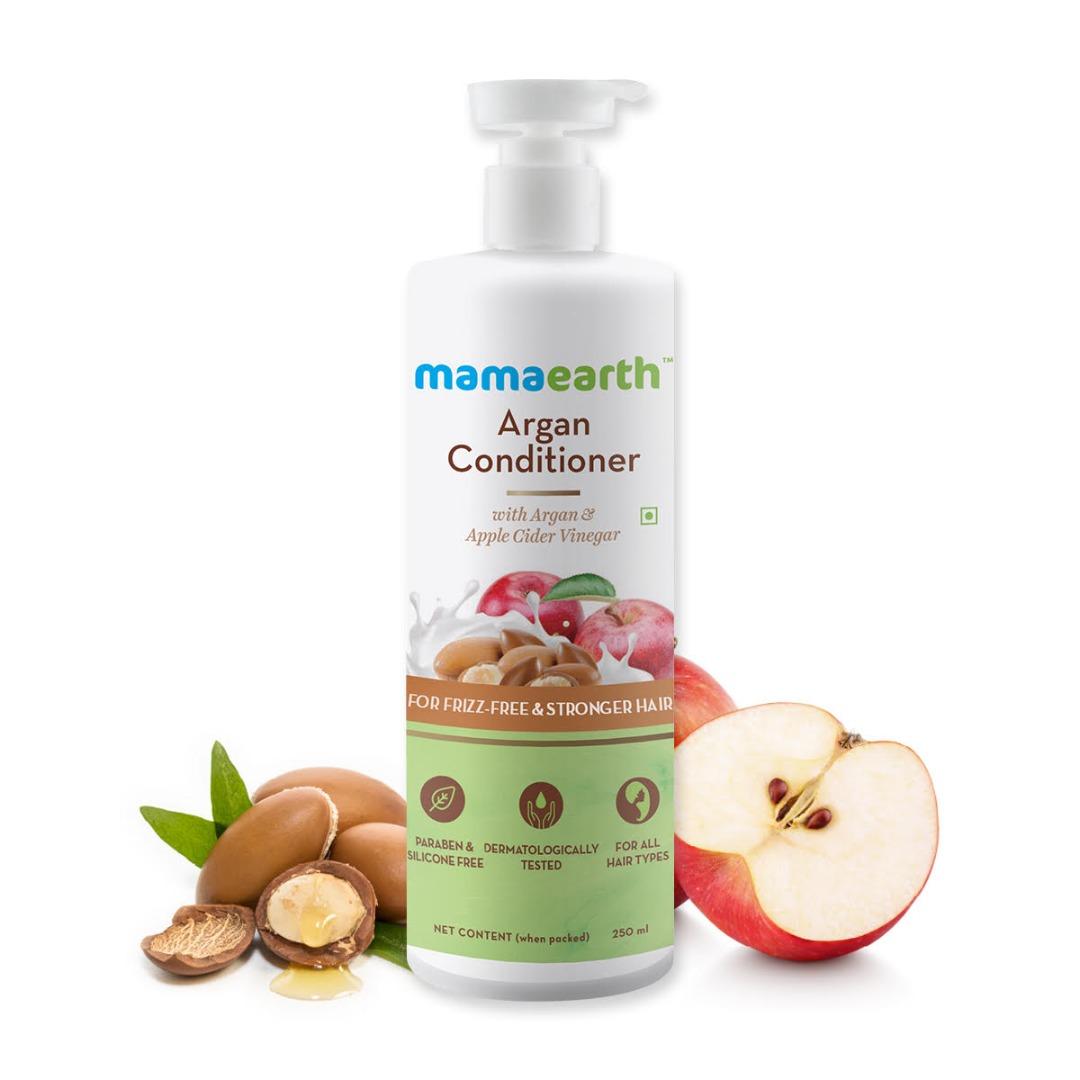 MamaEarth Argan Conditioner with Argan & Apple Cider Vinegar