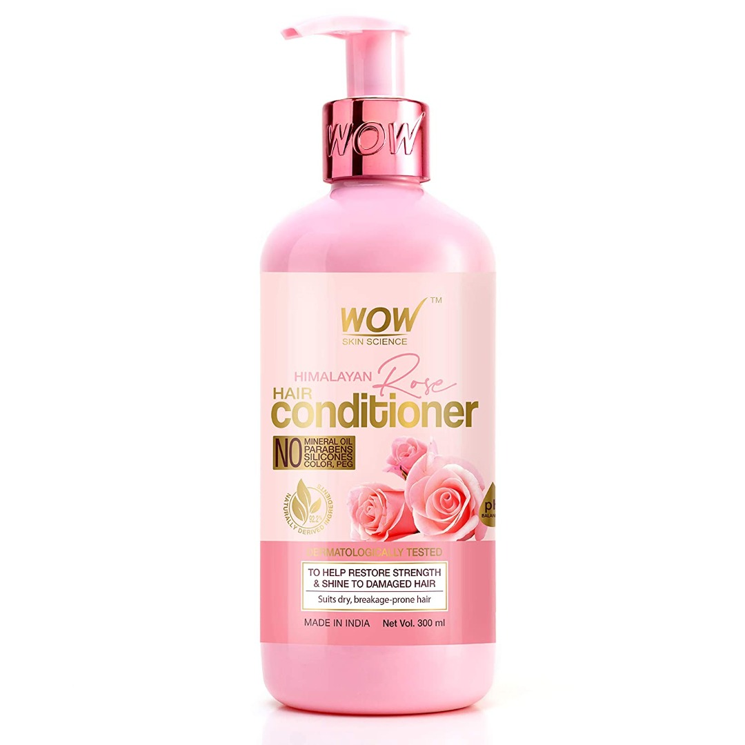 Wow Himalayan Rose Conditioner with Rose Hydrosol