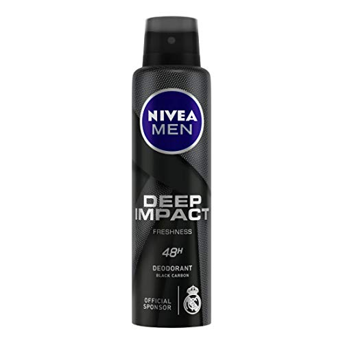 Nivea Men Deodorant Deep Impact Freshness (150Ml)