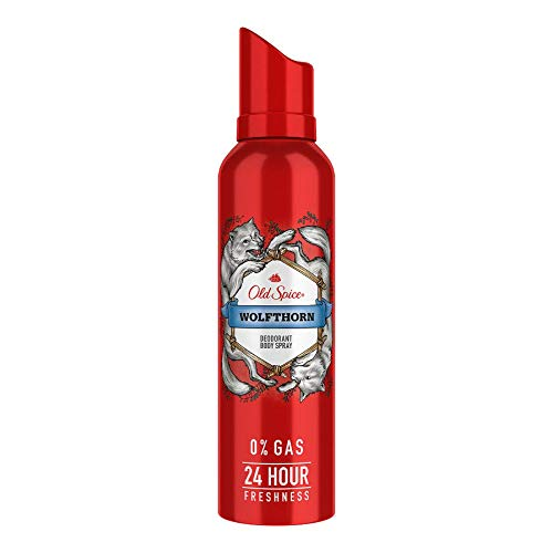Old Spice Wolfthorn No Gas Deodorant Body Spray Perfume (140Ml)