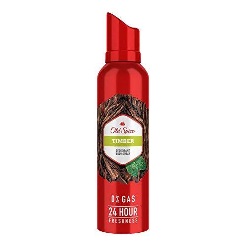 Old Spice Timber No Gas Deodorant Body Spray Perfume