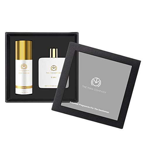 The Man Company Classic Daily Kit - Body Perfume + Eau De Toilette