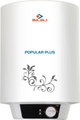 Bajaj Popular Plus Storage Vertical Water Heater - 10 Litre - 3 Star