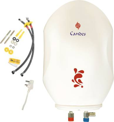 Candes Electric Water Geyser Auto Power Cut-Off Feature - 10 Litre