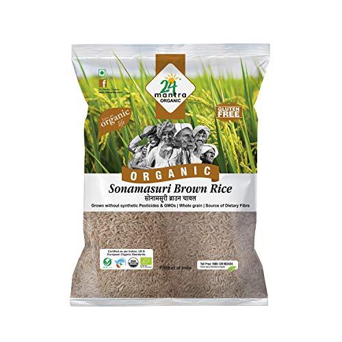 24 Mantra Organic Sonamasuri Brown Rice