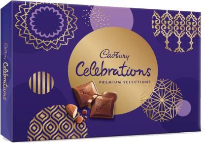 Cadbury Celebrations Premium Assorted Chocolate Gift Pack, 281gm