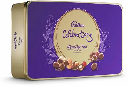 Cadbury Celebrations Rich Dry Fruit Chocolate Gift Box, 177gm