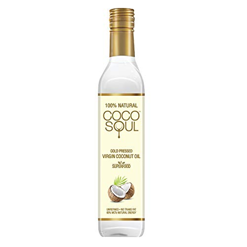 Coco Soul Cold Pressed Natural Virgin Coconut Oil