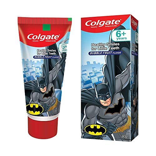 Colgate Kids Toothpaste, Gentle Protection for 6+ Years, Motu Patlu, Bubble Fruit Flavour