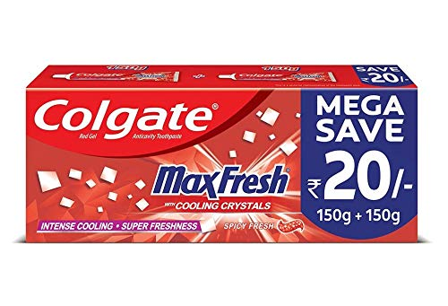 Colgate Max Fresh, Spicy Fresh Red Gel Toothpaste, 300gm