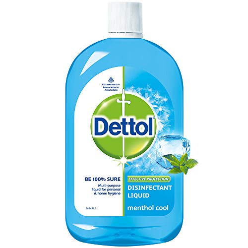Dettol Liquid Disinfectant, Menthol Cool