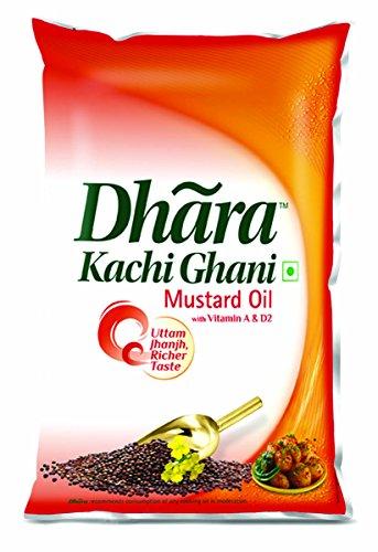 Dhara Kachhi Ghani Mustard Oil