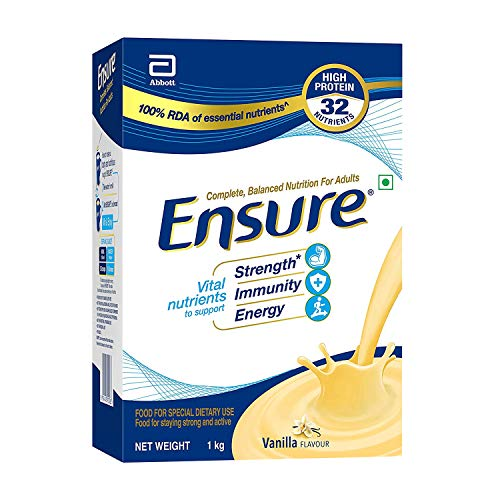 Ensure Complete, Balanced Nutrition Drink for Adults with Nutri-Strength Complex (Vanilla Flavour)