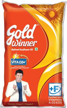 Gold Winner Refined Sunflower Oil