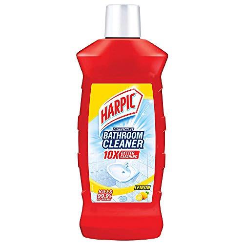 Harpic Disinfectant Bathroom Cleaner, Lemon