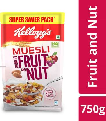 Kelloggs Muesli with 21% Fruit and Nut