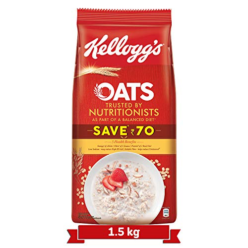 Kelloggs Oats Trusted by Nutritionists Pouch