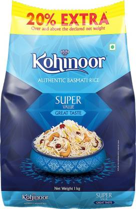 Kohinoor Super Value Authentic Basmati Rice