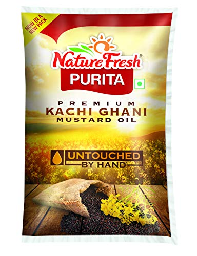 Nature Fresh Purita Premium Kachi Ghani Mustard Oil