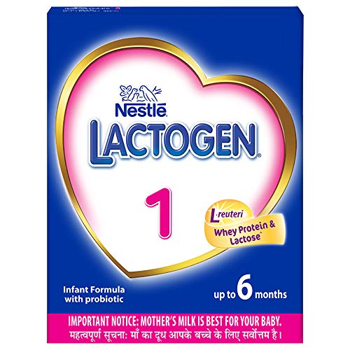 Nestle Lactogen 1 Infant Formula Powder (Up to 6 months) Stage 1 - 400g Bag-In-Box Pack