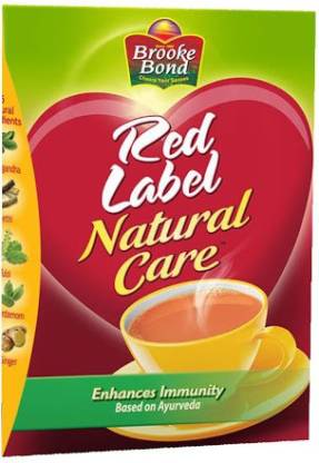 Red Label Natural Care Tea, Made with 5 Ayurvedic Herbs